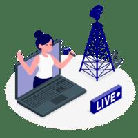 A Live Broadcast?